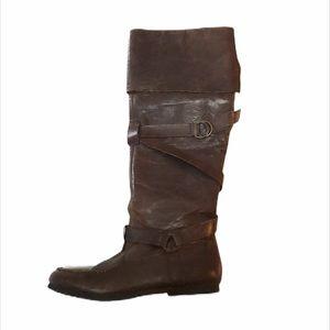 STEVE MADDEN Brown Riding Boots